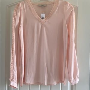 Loft Blush Blouse. NWT!!!